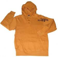 Ruff Hewn Boys Gold Fall Hooded Pull Over Cotton Jersey Shirt M 10-12