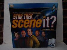 UNOPENED-Star Trek Scene It? DVD Game Family Trivia Trekkies-Real TV Movie Clips