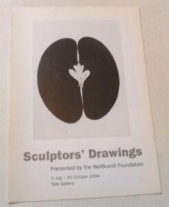 Sculptors drawings   1994 GROUP ART EXHIBITION CATALOGUE Anish Kapoor, R Long