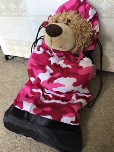 Build A Bear -  Camouflage Sleeping Bag - Bear Not Included 🧸