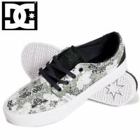 New DC Mens Trase X DPM Shoes ADYS300190 Low-Top Sneakers Canvas Trainers UK 7.5