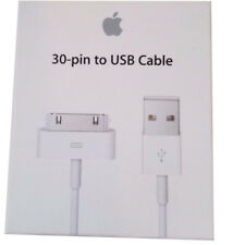 OEM Apple 30-PIN to USB Charge & Sync Cable for iPhone iPod iPads MA591G/C