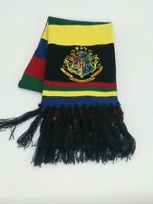Harry Potter Scarf Hogwarts Stripe Universal Studios London Pre-owned