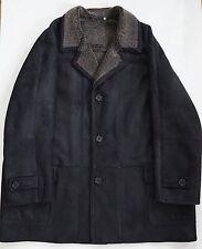 $1600 BLUE DUCK Brown SPANISH MERINO SHEARLING Coat Jacket Outerwear 4XLT