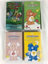 Care Bears VHS Lot Meet Lovable Monsters Town Parade Exercise Show Bravest