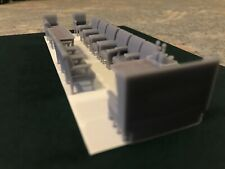 More details for o gauge ner inspection saloon seats and tables kwvr - railway children 7mm scale