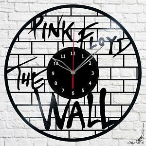 Vinyl Clock Pink Floyd The Wall  Clock Unique Art Vinyl Record Wall Clock 507i