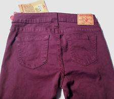 NEW-NWT-RRP $389- Womens True Religion 'HALLE HIGHER RISE SKINNY LEGGINGS' Jeans