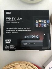 New Western Digital WD TV Live HD Media Player WDBAAN0000NBK-NESN