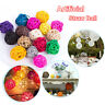 DIY Craft Ornament Artificial Straw Ball Wedding Decor Rattan Birthday Party