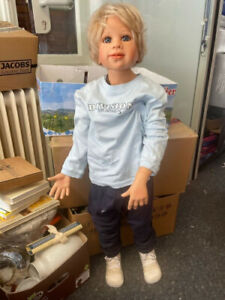 Monika Levenig Artistic Doll Vinyl Doll 95 Cm. Top Condition