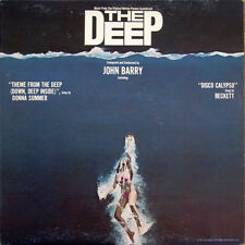 33 2LP OST  John Barry – The Deep  Vinyl  Blue Translucent usa 1977