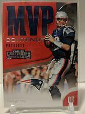 Tom Brady 2018 Panini Contenders MVP Insert #MVP-4 Patriots