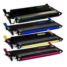 4 PK CLT-K407S Toner Cartridge BCMY Set for Samsung CLT-407S CLP-320 CLP-326