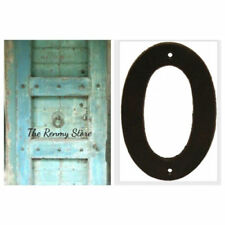 Numbers Cast Iron Decorative Plaques & Signs