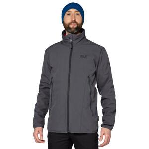Jack Wolfskin Mens Northern Pass Jacket Top Grey Sports Outdoors Full Zip