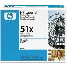 HP Q7551X Toner - Black 13000 Pages at 5%, High Yield LaserJet P3005/M3035