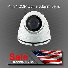 CCTV Home Security Camera Dome AHD TVI Outdoor Indoor Waterproof Surveillance