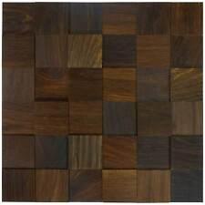 wodewa Holz Wandverkleidung EICHE tabak I Echtholz I selbstklebend I Holzpaneel