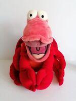 Disney Store Genuine The Little Mermaid Sebastian Plush Soft Toy Lobster