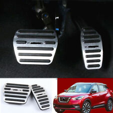Foot Gas Brake Pedal Automatic Accessories Fits Nissan Kicks 2017-2019 AT Silver