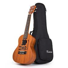 Kmise Concert Ukulele Uke Acoustic Hawaii Guitar 18 Fret 23 Inch Mahogany Rabbit
