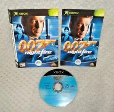 James Bond 007: Nightfire XBOX Original disque de jeu, manuel & Manche seulement