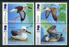 Tristan da Cunha 2018 MNH Migratory Species Albatross 4v Set Birds Stamps
