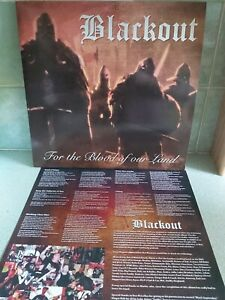 Blackout For The Blood Of Our Land Vinyl ISD Skinhead GREEN VINYL LAST ONE