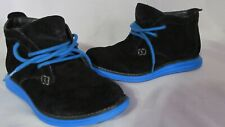 Sketchers Shoes Boys Size 6 Casual Black Suede