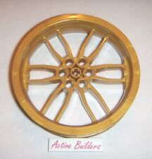 Lego Motorcycle Wheels 75mm D Pearl Gold 70724 Technic