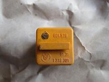 BMW Relay 61 31 1 378 301 Orange 4 Pin