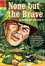 None but the Brave Movie Classics #506 GD/VG 3.0 1965 Stock Image Low Grade