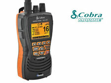 VHF COBRA MARINE MR HH600 BLACK CON GPS IMPERMEABILE IPX8 NAUTICO