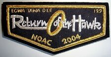EGWA TAWA DEE OA 129 ATLANTA AREA LORD OF THE RINGS NOAC 2004 B1 BULLION FLAP
