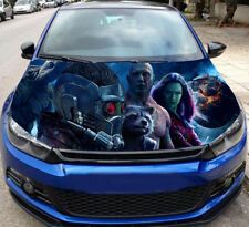 Car Hood Full Color Guardians Of The Galaxy Vinyl, Car Graphics Decal Wrap MH95