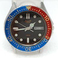 Orologio Peter f pepsi watch diver japan clock vintage by seiko pepsi montre sub