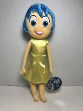 """NEW 14"""" Genuine Disney Store Exclusive Inside Out Small JOY Plush Toy Doll"""