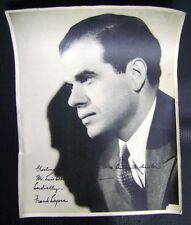 Real Photo Frank Capra USA Movie Director Signed Printed