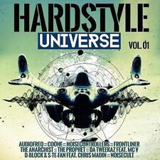 HARDSTYLE UNIVERSE = Coone/Prophet/Tweekaz/Madin/Typhoon...=2CD= HARDCORE GABBER