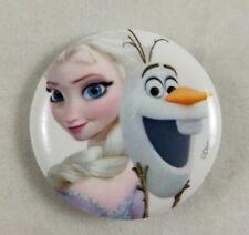 """Nuevo Disney Frozen Elsa y Olaf 1.25"""" Botón Pin Espalda Cordón encanto"""