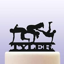 Personalised Acrylic Breakdance Birthday Cake Topper Decoration