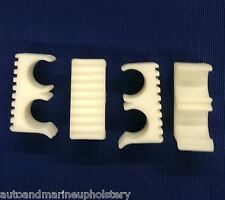"4  7/8"" WHITE Bimini Boat Top Double Frame Lock Spacers Braces Isinglass"
