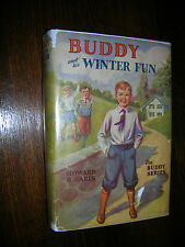 Buddy and His Winter Fun By Howard R Garis w/ Dustjacket 1929 First Edition (?)
