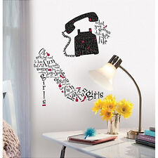 Girls Just Want to Have Fun Lyrics wall stickers 16 decal typographic shoe phone