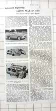 1958 Engineering Review Of The Aston Martin DB4