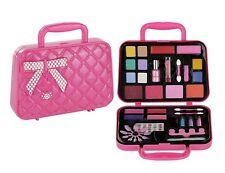 Pinkleaf Makeup Set & Nail Art Kit Duo Gift Little Girls 3+-Safe,Non-Toxic