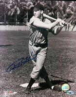 Ralph Kiner Signed 8X10 Vintage Photograph Autograph Pirates Posing Bat COA Auto