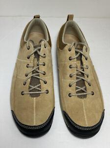 LL Bean Womens 10 M Feldspar Suede Lace Up Shoes 293352 Brown