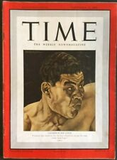 TIME MAGAZINE 29 SEPTEMBER 1941 VINTAGE -  Joe Louis boxing champion - no label